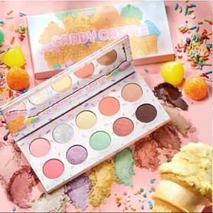 ColourPop Candy Land Castle Eyeshadow Palette NEW